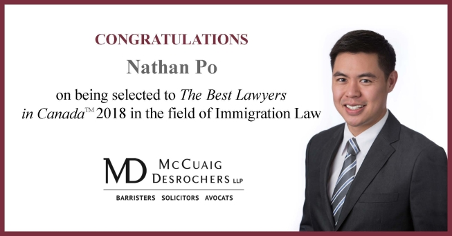 Best Lawyers Nathan Po